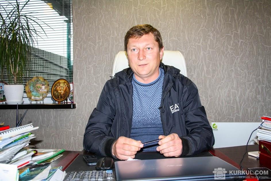 Олександр Яблонський, директор господарства «Злагода»