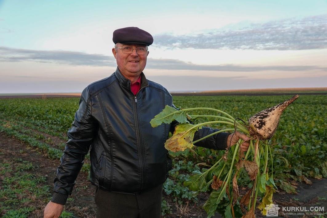 Анатолій Коваленко, головний агроном підприємства «Агрофірма Медобори»