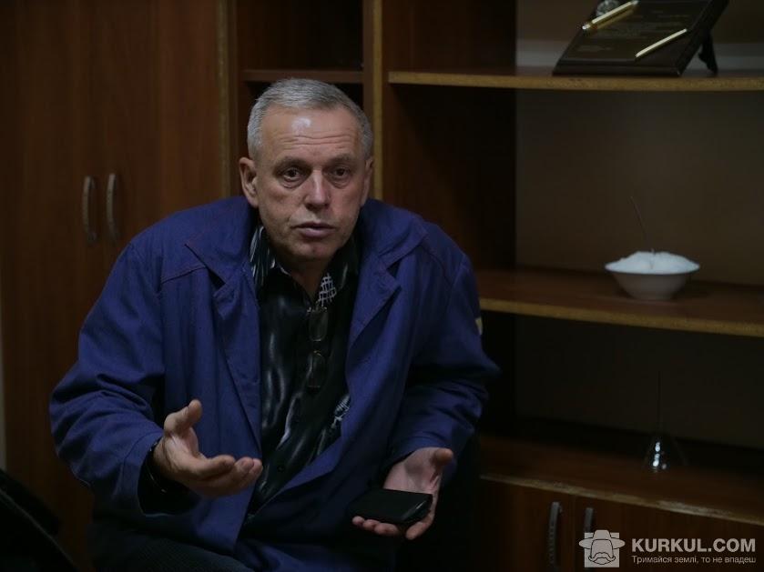 Володимир Стельмах, головний інженер «Жовтневого цукрового комбінату»