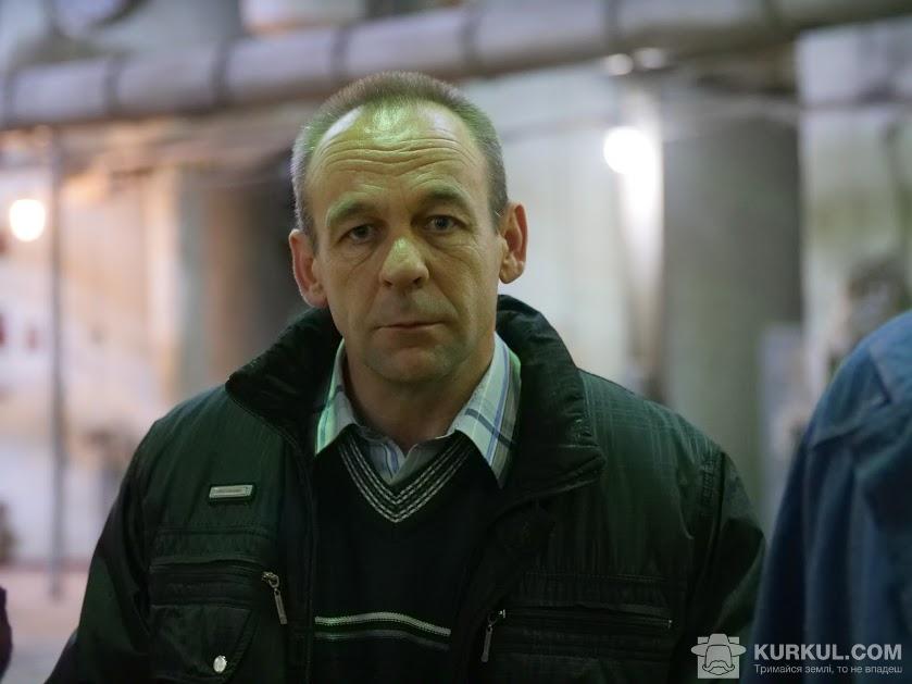 Володимир Лисенко, начальник служби охорони «Жовтневого цукрового комбінату»