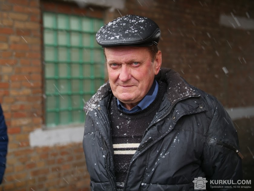 Олександр Бондаренко, начальник сировинного відділу «Жовтневого цукрового комбінату»