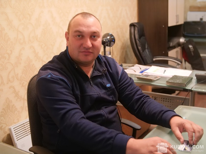 Андрій Голуб, керівник підприємства «Угроїдський цукровий завод»