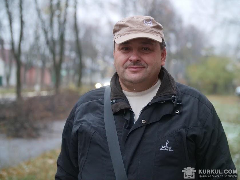 Сергій Горопашний, представник компанії «Бізон-Тех»