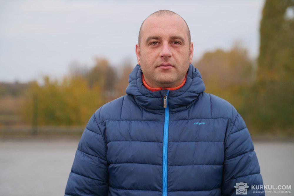 Володимир Курячий, регіональний представник «КВС-УКРАЇНА» в Полтавській області