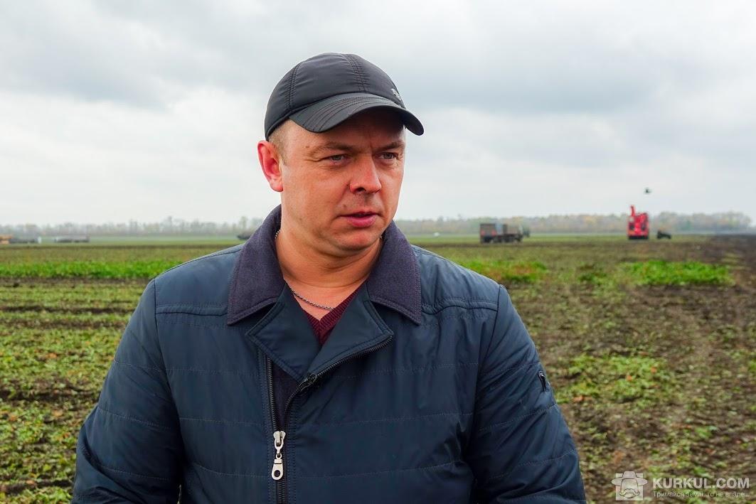 Андрій Кушніренко, головний агроном «Агроспецсервіс»
