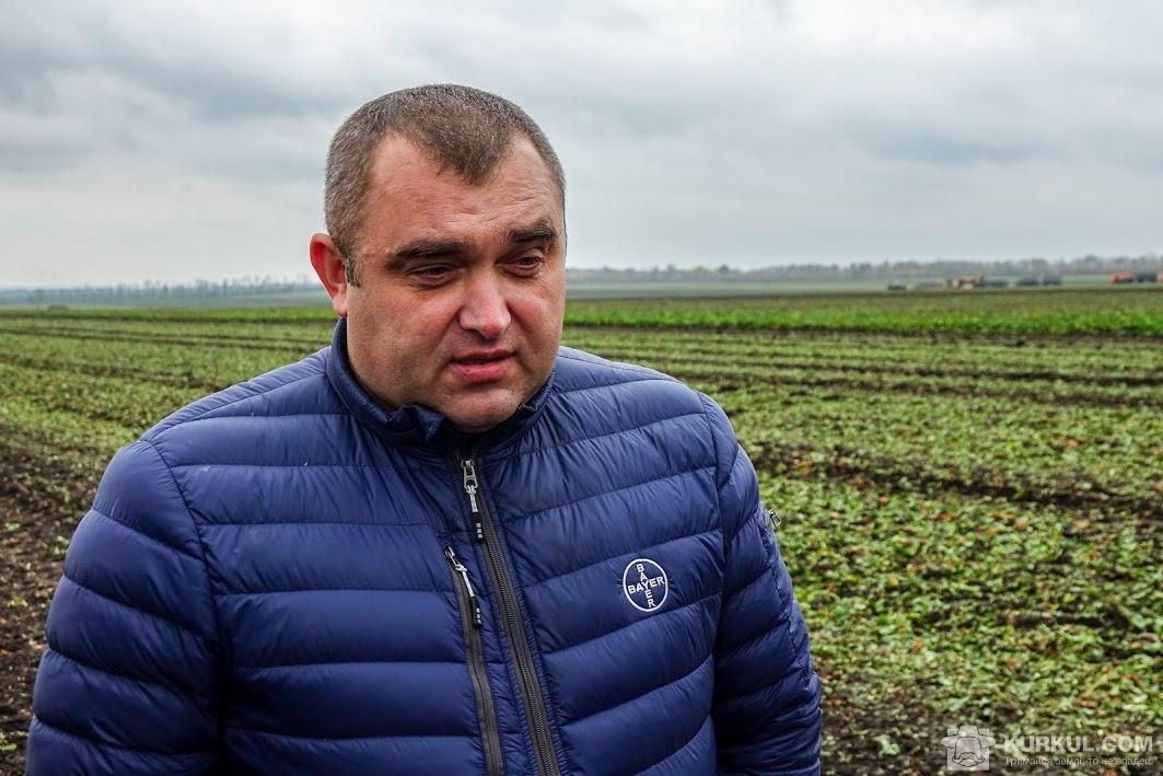 Андрій Кравцан, представник Bayer у Кіровоградській області