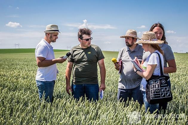 Західний буг, агроекспедиція пшениця 2017