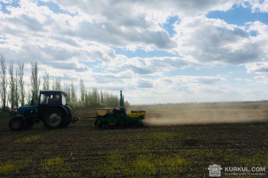 Посів кукурудзи в ФГ «Єнісей»