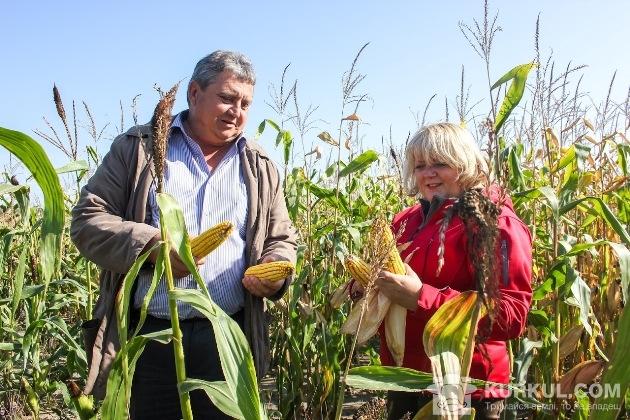 Юрій Олефіренко та Наталія Каражбей