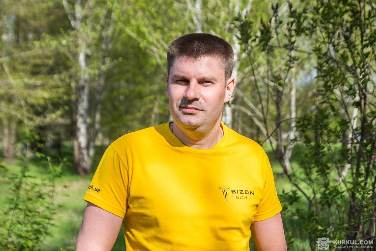 Володимир Поліщук, торговий представник «Бізон-Тех» в Київській і Житомирській областях