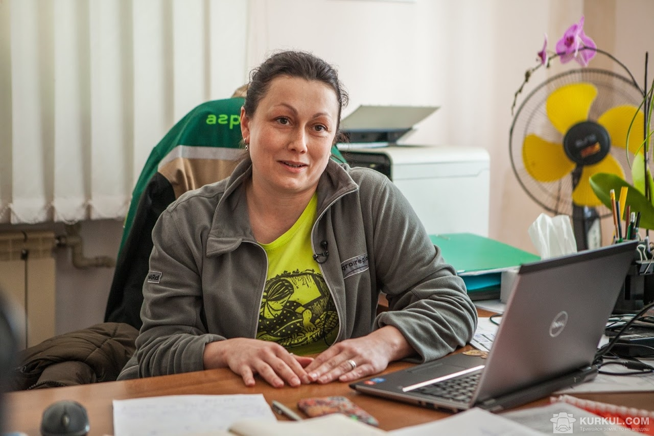 Катерина Мороз, директора підрозділу Чернігівського кластеру «Агро-Регіон»