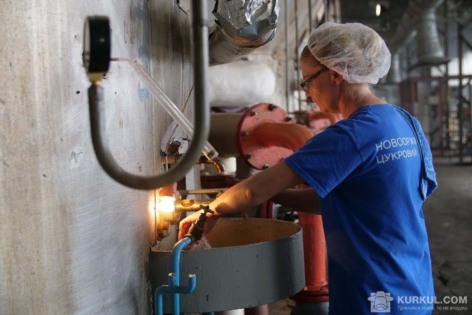 Робочий процес на «Новооржицькому цукровому заводі»