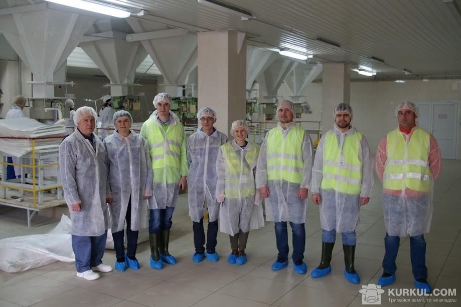 Агроекспедитори на території Новооржицького цукрового заводу