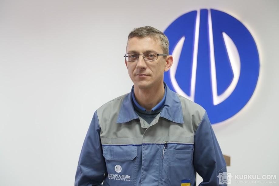 Юрій Андрєєв, заступник директора з виробництва «Новооржицького цукрового заводу»