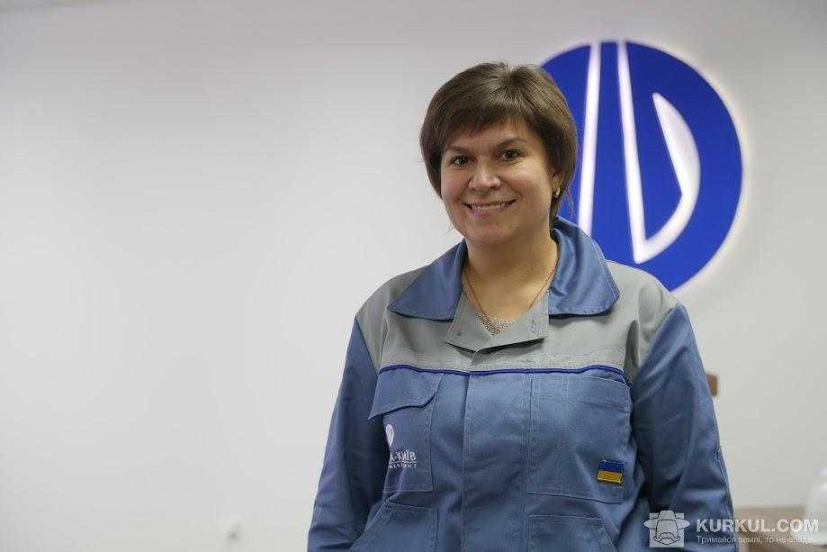 Ірина Андрєєва, начальник служби охорони праці, пожежної безпеки, охорони навколишнього середовища та сертифікації