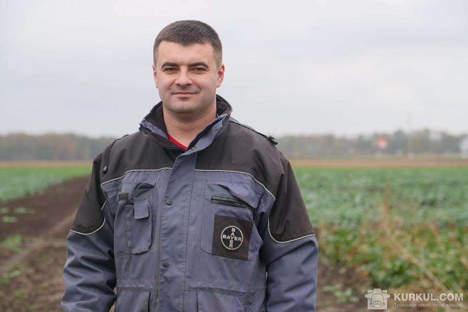 Володимир Кулинич, експерт з демонстраційних досліджень компанії Bayer