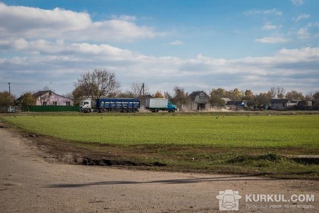 Вулиця села Андріївка