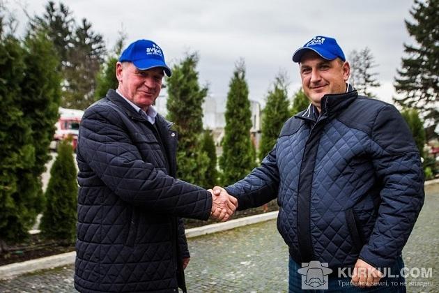 Василь Гальома і Василь Грушко (з ліва на право)