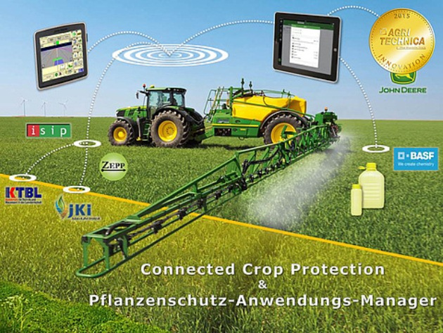 Золота медаль № 3 Connected Crop Protection and Chemical Application Manager