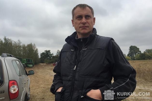 Керівник з виробництва «Радомишльського овочевого підприємства» Валерій Бібіков