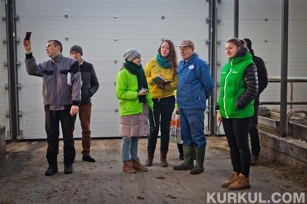 Керівник ферми ділиться планами з АгроЕкспедиторами