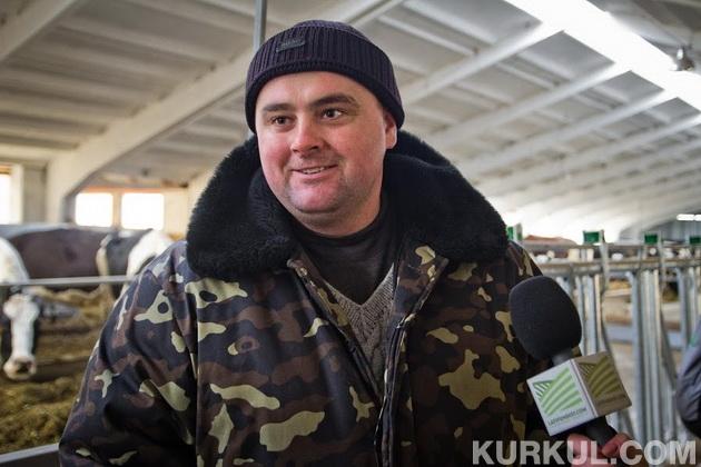 Головний лікар ветеринарної медицини господарства Олександр Кармазін