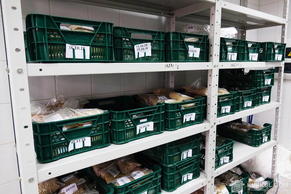 Пункт зберігання зразків продукції, яку випустили, де вони зберігаються протягом півроку