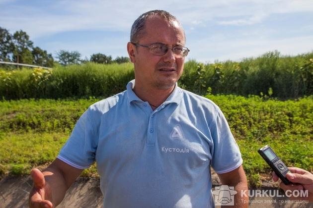 Володимир Єламов, головний агроном відділення Грейгово АТФ «Агро Діло»