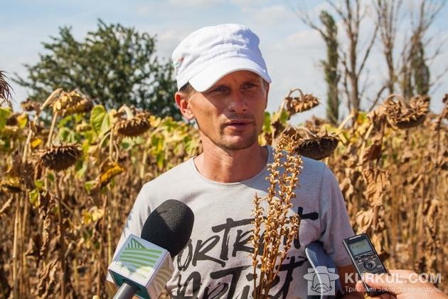 Олексій Дмитрієв, директор господарства «Злато Таврії»