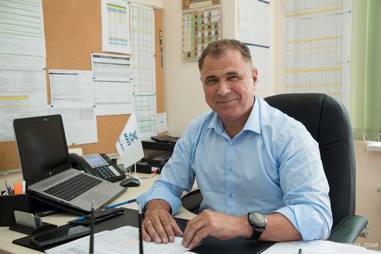 Вадим Льошенко, директор підприємства «Захід-Агро МХП»