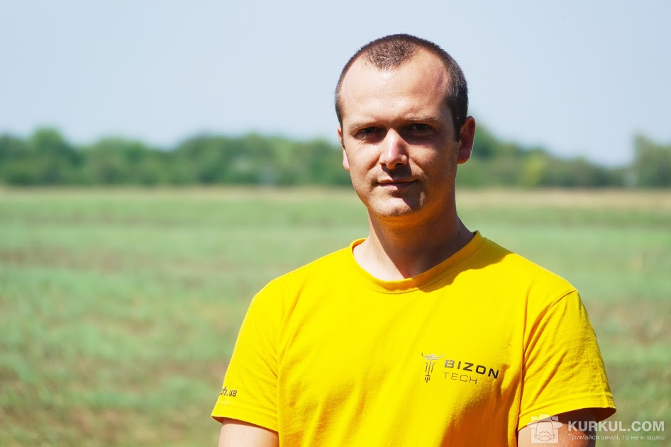 Михайло Соловей, менеджер з продажу компанії «Бізон-Тех»