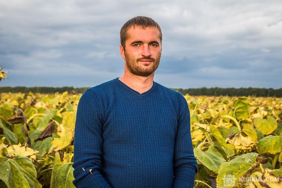 Олександр Левчик, головний агроном господарства «Воля»