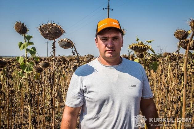 Михайло Петращук, провідний агроном підприємтства «Запоріжжя-Агро»