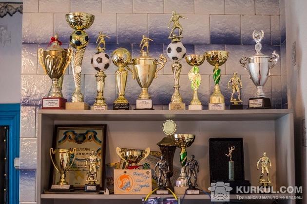 Нагороди футбольної команди села