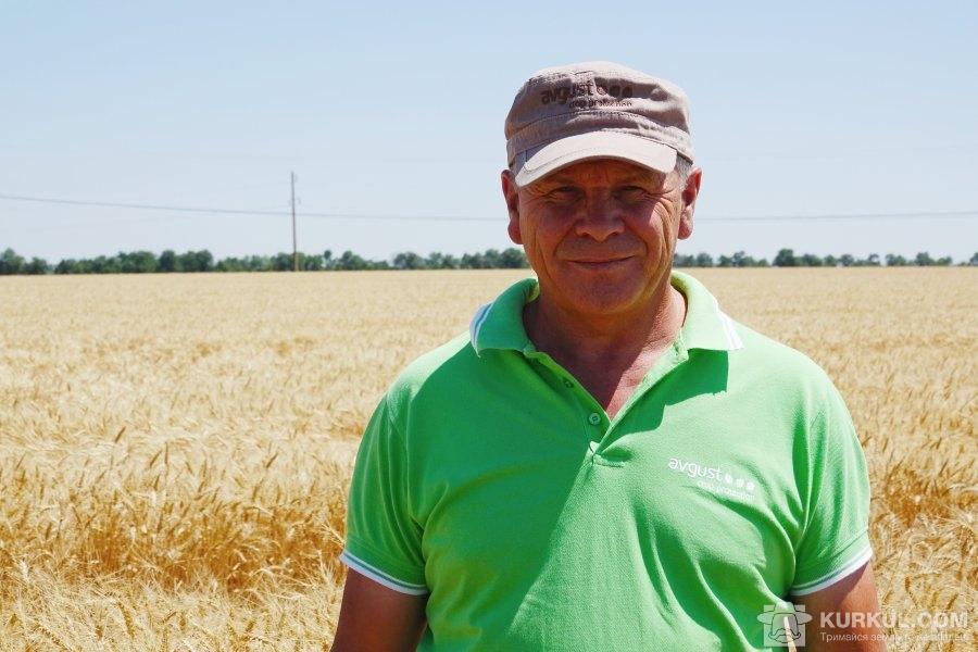 Віктор Гонтарук,  кандидат сільськогосподарських наук, регіональний представник в Херсонській області компанії «Август-Україна»