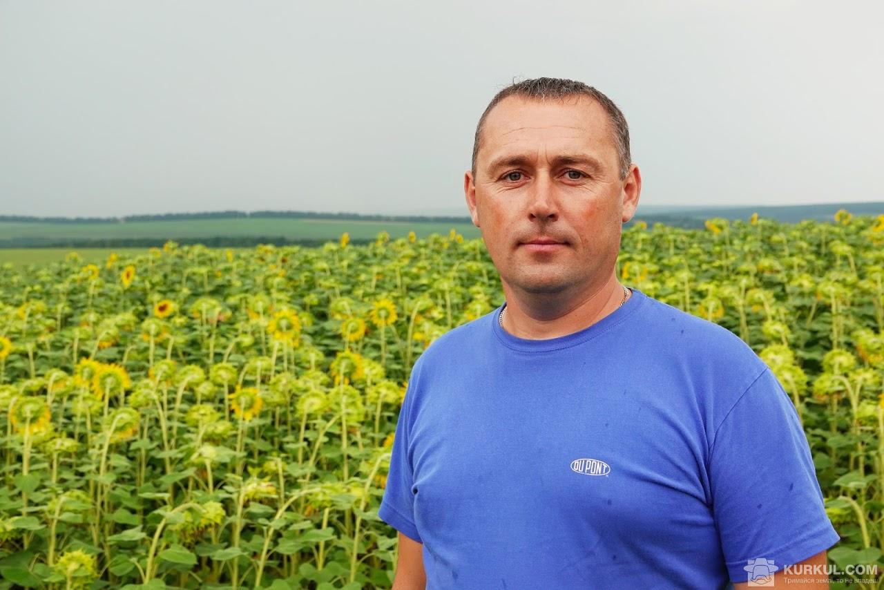 Микола Люльчак, головний агроном господарства «Врожайне»