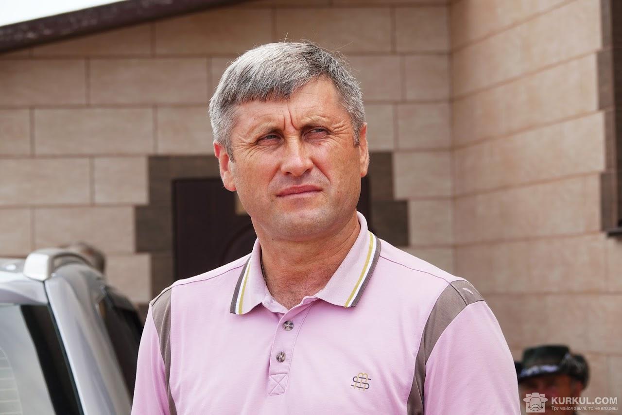 Анатоліяй Дідик, голова господарства «Врожайне»