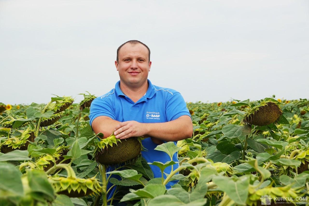 Віктор Романюк, регіональний менеджер зі збуту компанії BASF в Вінницькій області