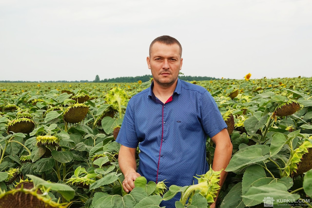 Юрій Паламарчук, головний агроном господарства «Дашківці»