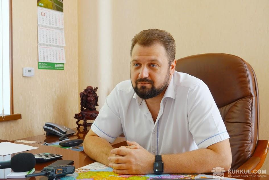Руслан Цобенко, генеральний директор «АПК «Розкішна»