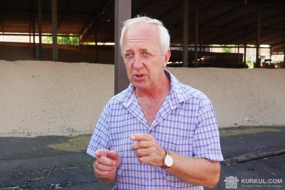Сергій Савчук, директор господарства «Нива»