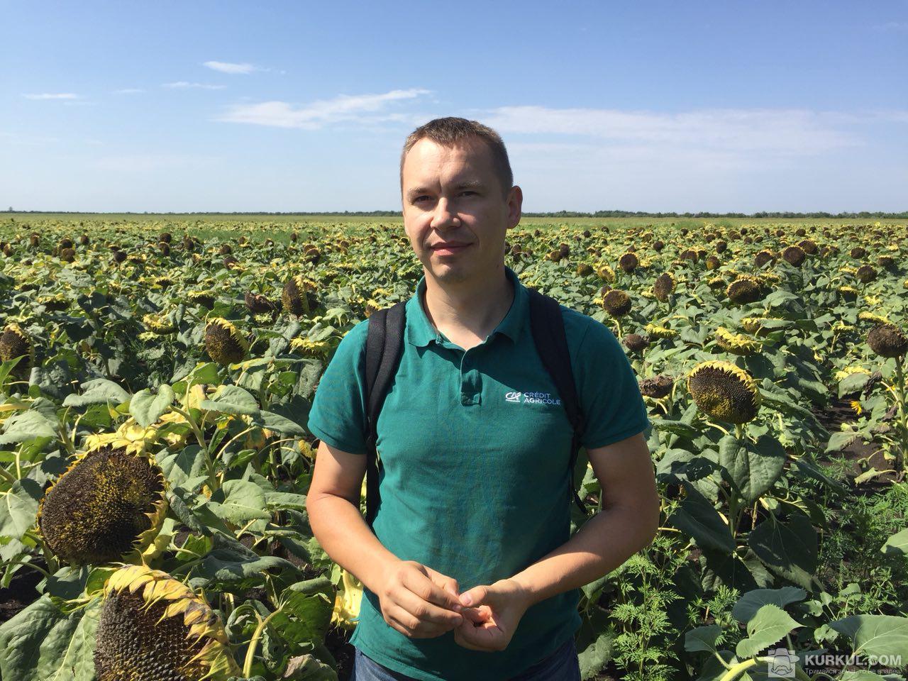 Василь Бєлозерських, заступник директора Департаменту підтримки Агро Бізнесу Credit Agricole Bank