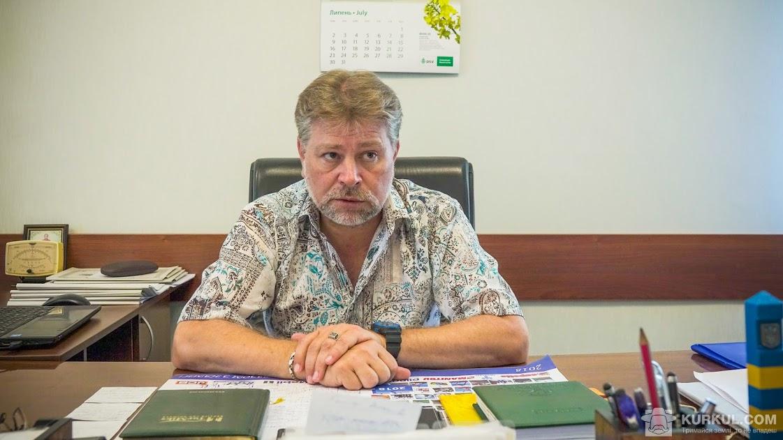 Ігор Очканов, директор господарства «Росія»