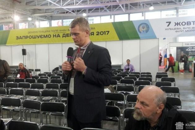 Екс-міністр аграрної політики та продовольства України Ігор Швайка