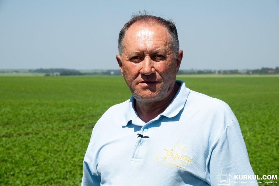 Ігор Пославський, агроном-агрохімік товариства «Україна»