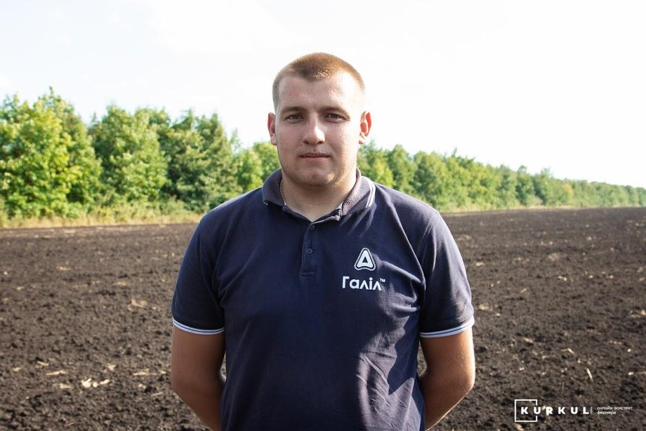 Станіслав Кришталь, агроном «Кириченко М»