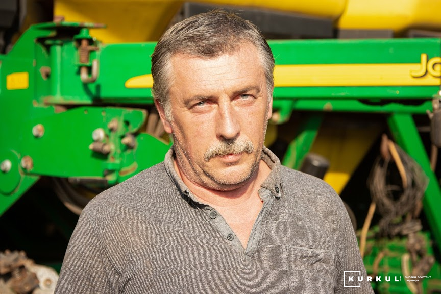 Вадим Клименко, механізатор «Кириченко М»