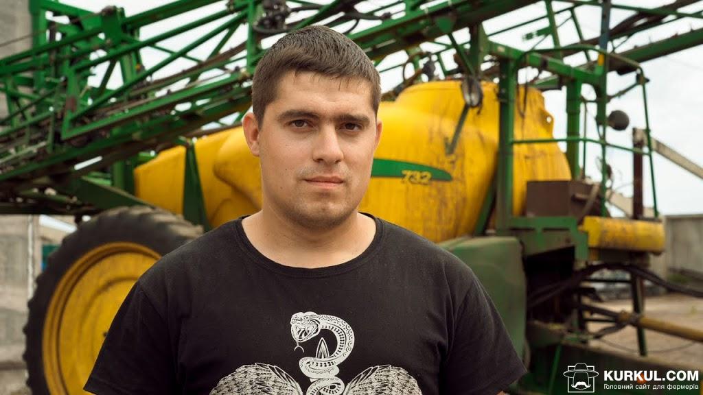 Дмитро Хистєв, агроном господарства «Кириченко М»