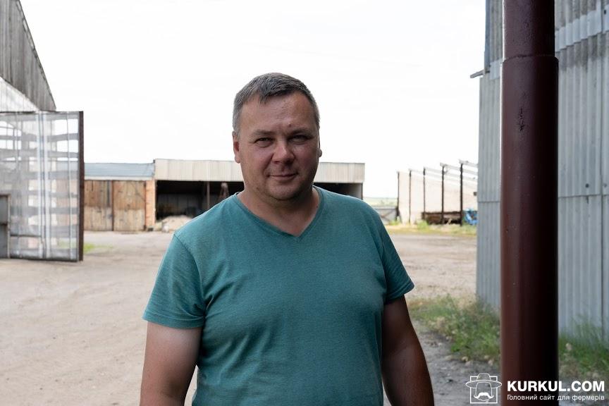 Роман Чухиль, інженер господарства «Кириченко М»