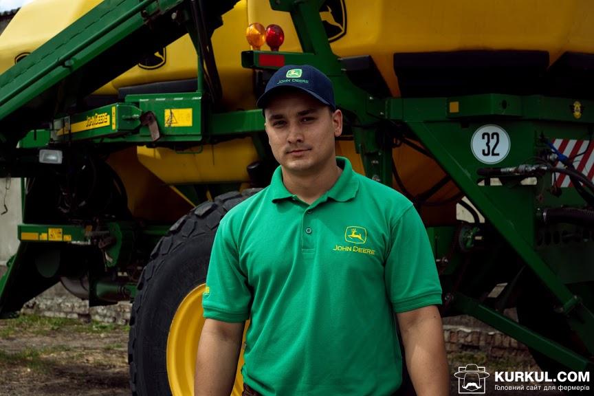 Олександр Білик, менеджер з продажу техніки компанії Agristar